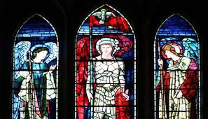 Stained glass St Margaret's